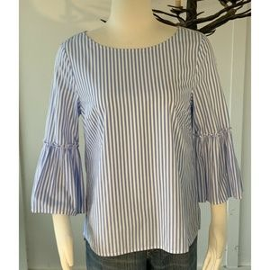 Vineyard Vines Striped blouse Sz S